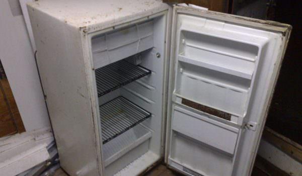 Как хранить холодильник зимой в неотапливаемом помещении