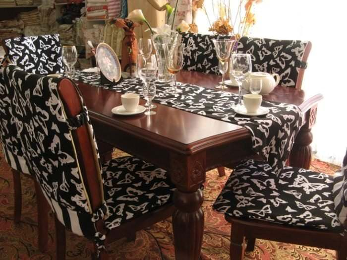 Чехлы на стулья для кухни 34 фото идей