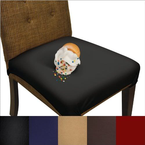 Чехлы разных цветов на стулья для кухни