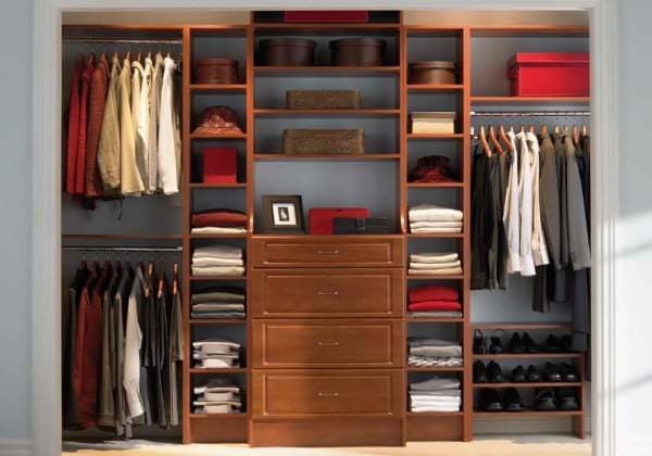 Wonderful Closet Ideas For Small Bedroom Modern Wooden Wardrobe Storage Design