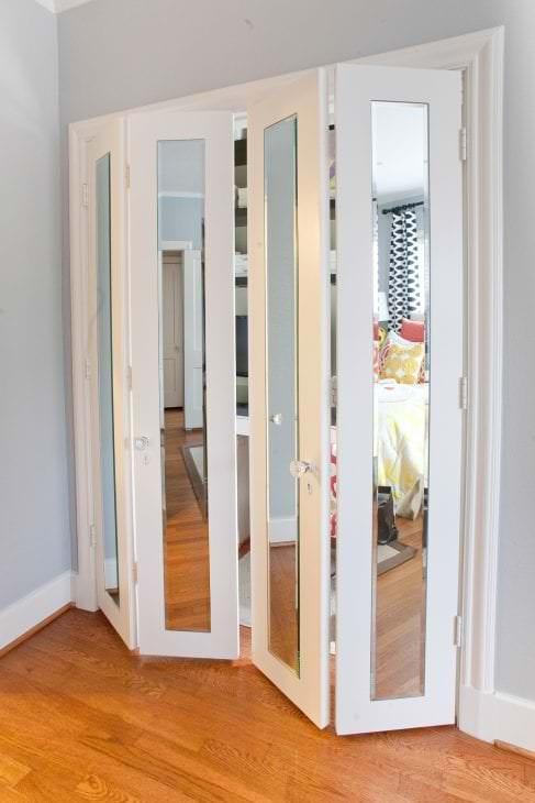 Дверь в гардеробную раздвижная своими руками