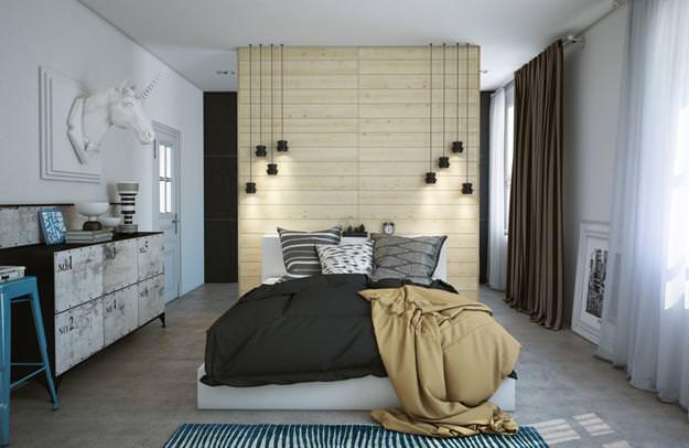 Спальня 6 кв.м дизайн