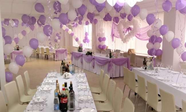 Фото оформление свадебных залов