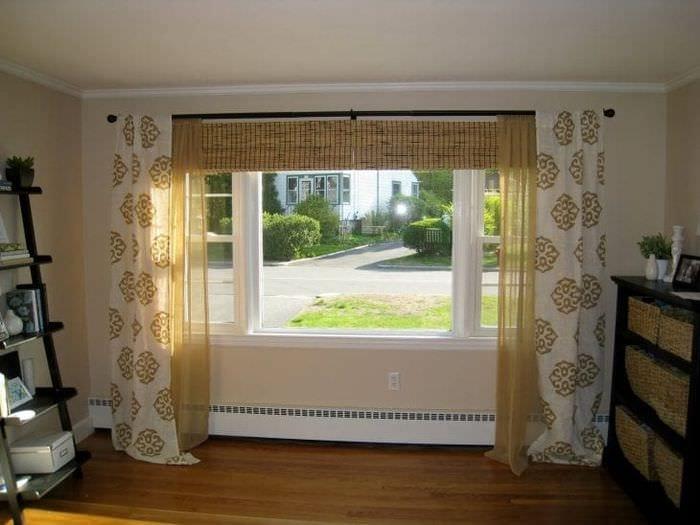 Дизайн штор для маленьких комнат