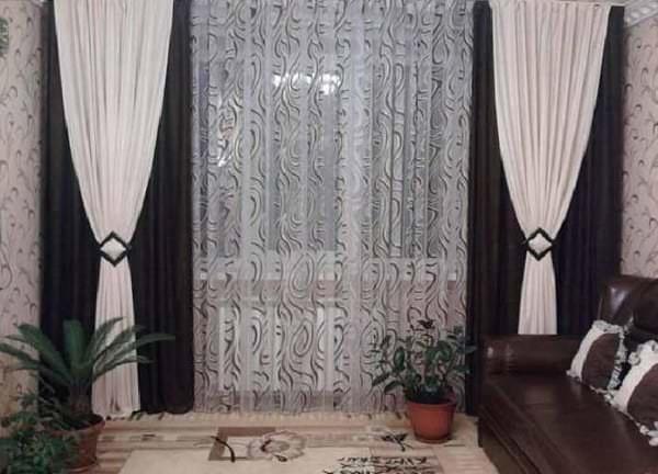 Как сшить тюль на окна