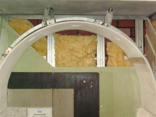 Фото как делать арку из гипсокартона своими