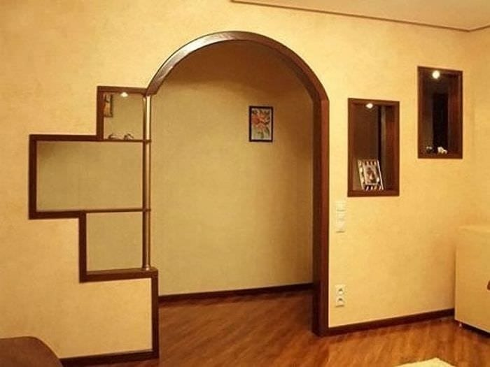 Как сделать арку в зал
