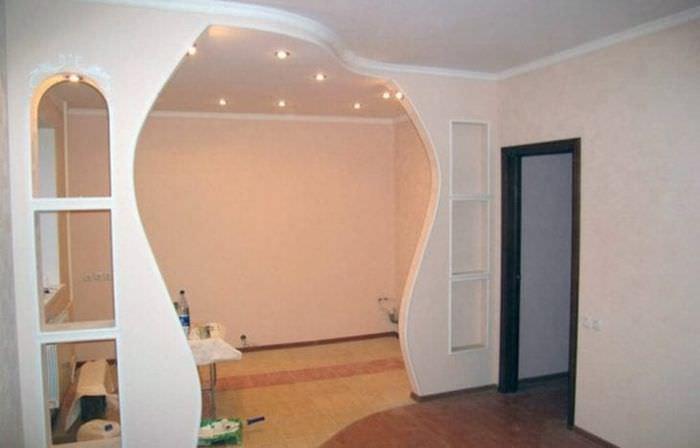 Квартирные арки своими руками