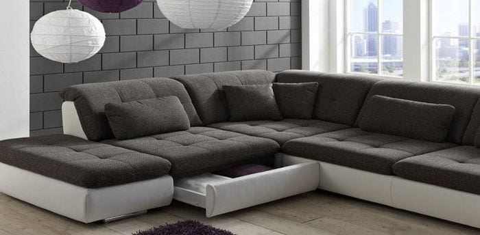 модульные диваны для гостиной со спальным местом фото варианты