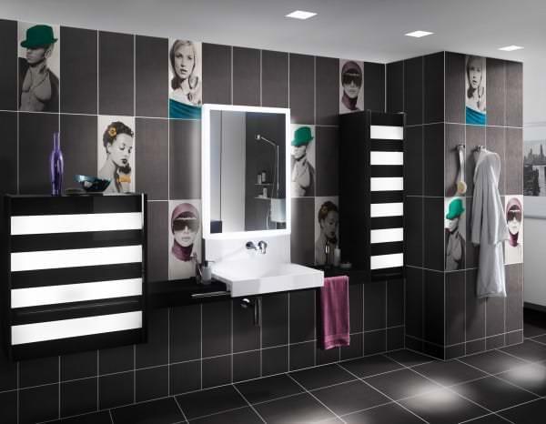 Керамическая плитка для ванной: варианты дизайна, фото, выбор