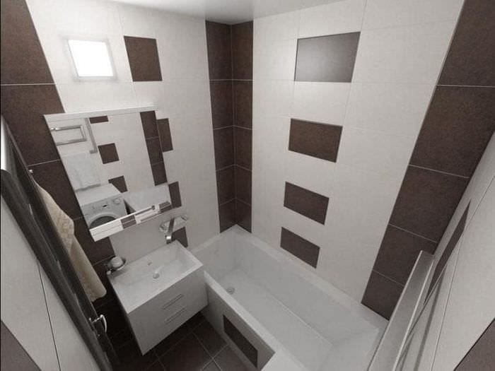 Фото ванных комнат в панельных домах