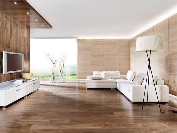 Белый диван для строгой и выдержанной гостиной