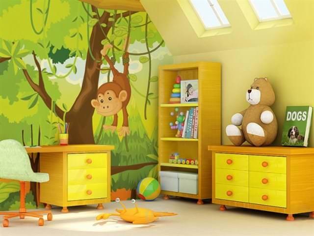 Как правильно выбрать обои для детской комнаты для мальчика: идеи с фото
