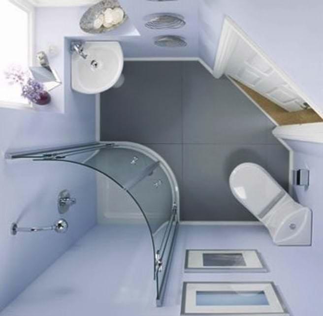 Плюсы и минусы душевой кабины в маленькой  ванной комнате