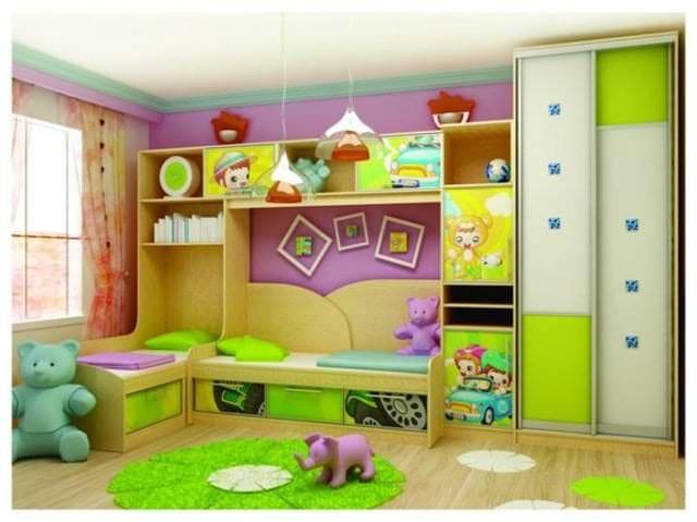 Шкаф-купе для детской: разновидности