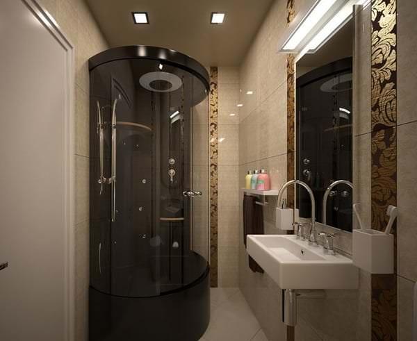 Как правильно разместить душевую кабину в ванной комнате