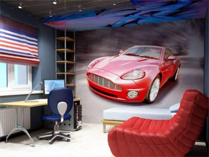 Автомобильная тематика для декора детской комнатвы для мальчика