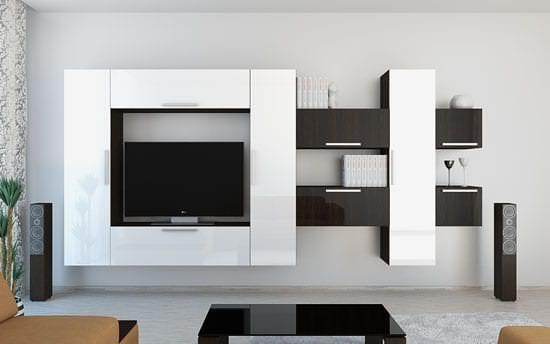 Создание интерьера при помощи модульных систем для гостиной