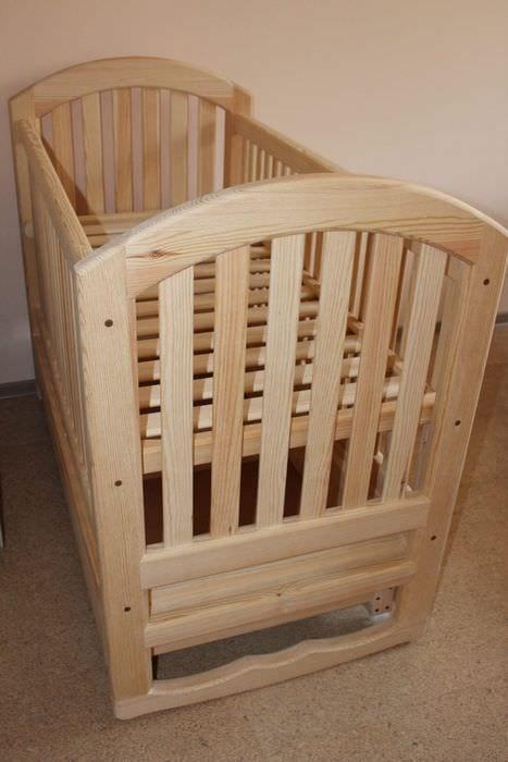 Как сделать детскую кроватку своими руками для новорожденного 56