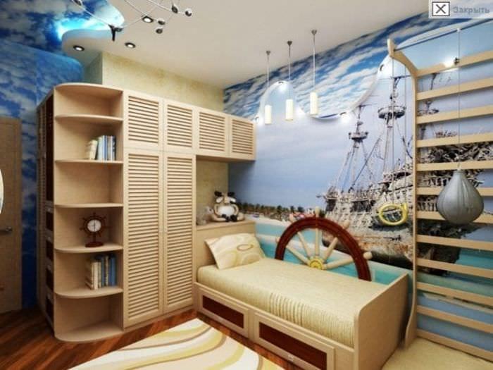 Морская тематика дизайн