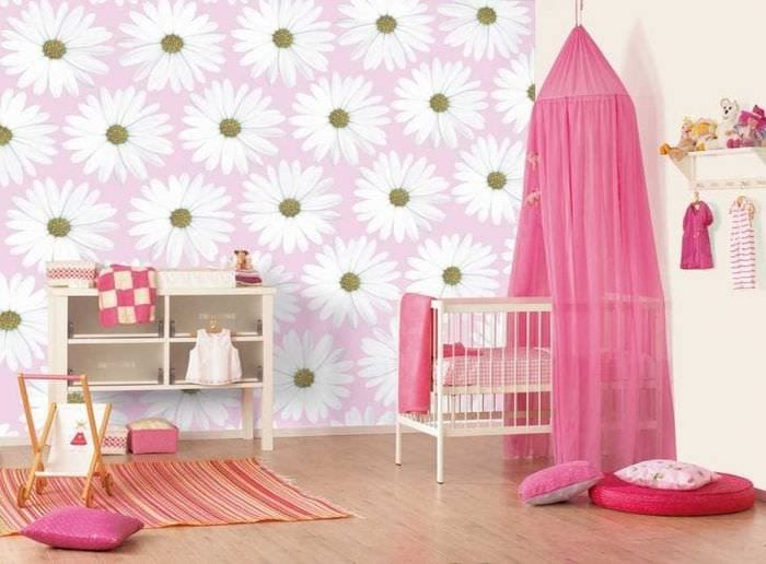 Дизайн фотообоев для стильной и современной детской комнаты