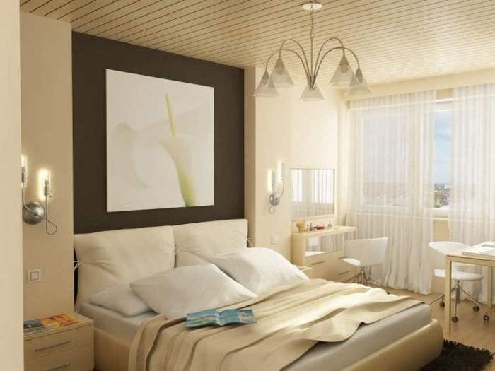 Дизайн спальни маленькой 10 кв м