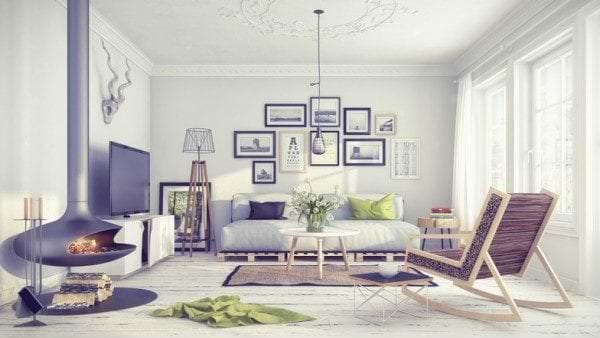варианты интерьера в скандинавском дизайне