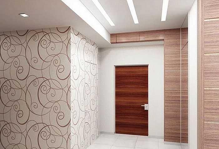 Ремонт стен в коридоре своими руками фото