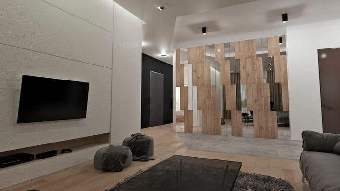 Декор для гостиной в стиле минимализм