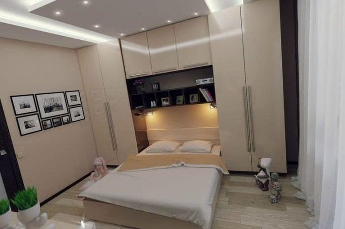 Дизайн спальни гостиной 10 кв.м