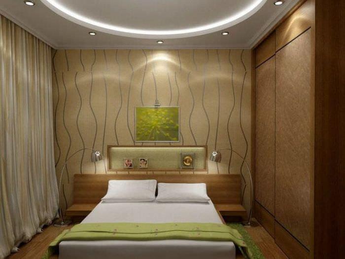 Комната 10 кв м спальня фото дизайн