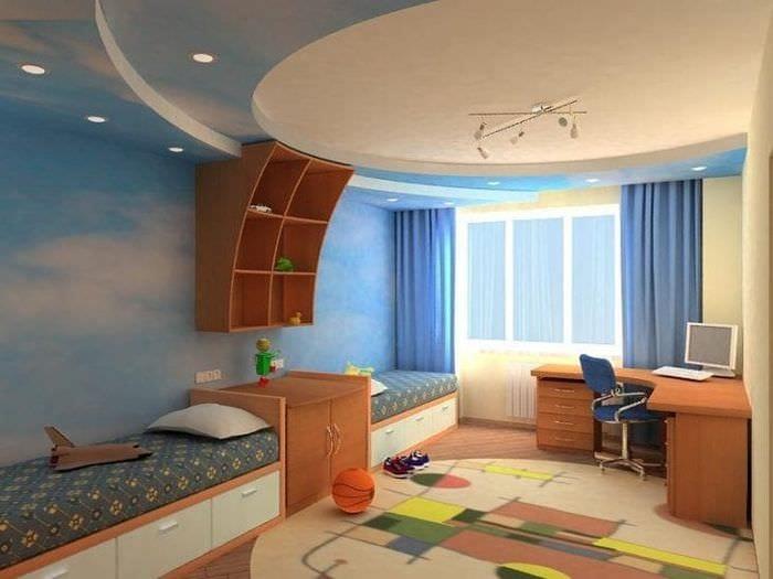 Детская комната для маленького спортсмена