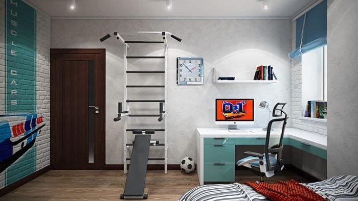 Ремонт комнаты для подростка мальчика своими руками
