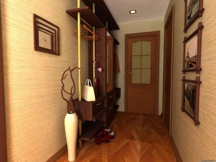 Обои для прихожей и коридора: фото, идеи, виды, разновидности для квартиры