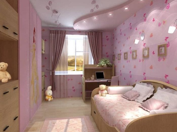 Модный стиль оформления детской комнаты