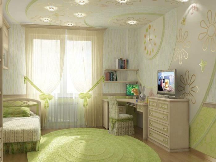 Дизайн интерьера спален детских комнат