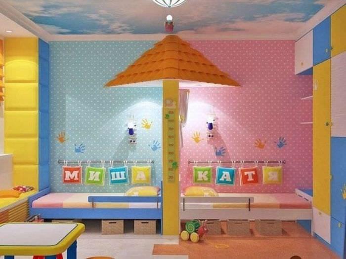 Ремонт детской комнаты для мальчика:фото, тема, интерьер, ре.