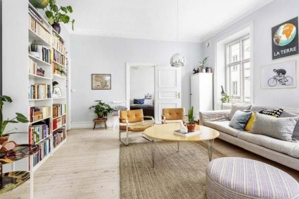 скандинавские тона в интерьере дома