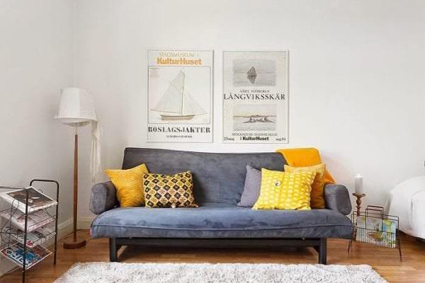 скандинавский минимализм в доме