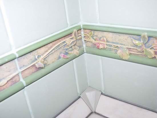 плинтус для ванной и кухни