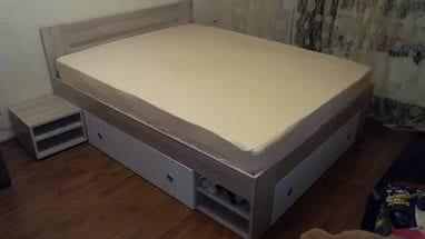 Большая кровать трансформер для светлой детской комнаты