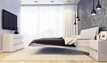 Функциональная мебель для гостиной в стиле минимализм