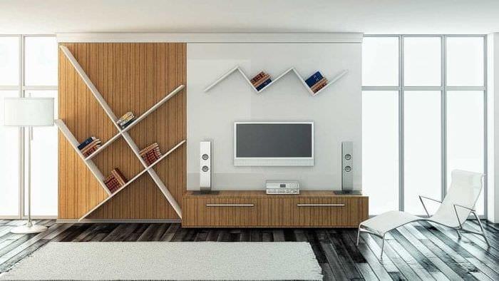 Модульные системы для стильного и современного дизайна гостиной