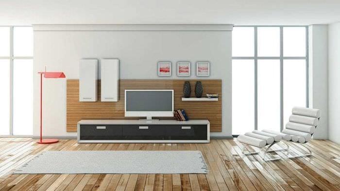 Модульная система для оформления стильной и современной гостиной