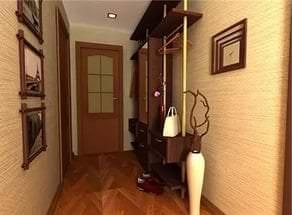 Идеи дизайна обоев для прихожей и коридора в квартире