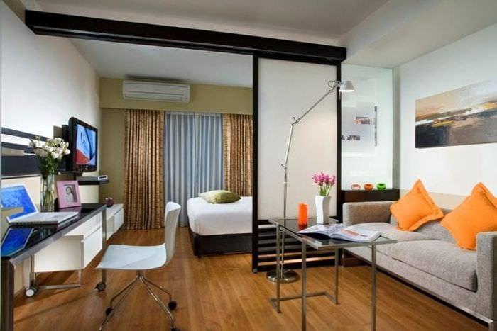 ширма для разделения комнаты
