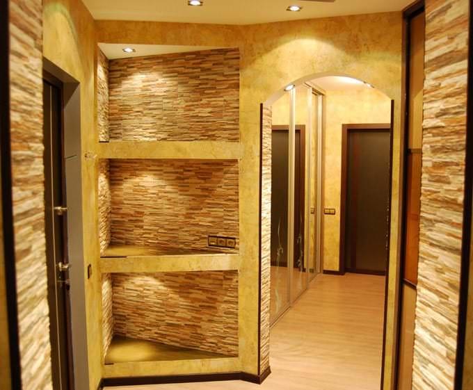 Стена из гипсокартона своими руками для двери фото 449