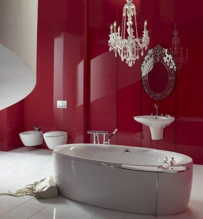 Ванная комната дизайн 2017