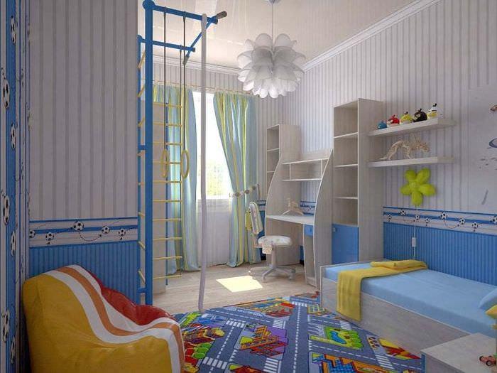ремонт детской комнаты для мальчикафото тема интерьер рекомендации