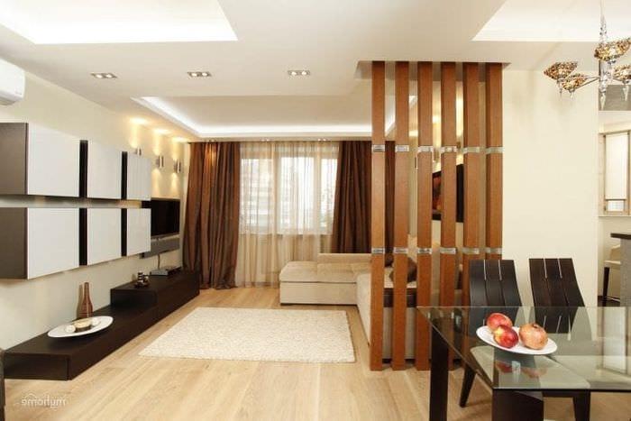 Выбираем перегородку в доме между кухней и гостиной